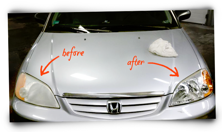 Headlight Restoration Car Wash Newport Beach Costa Mesa